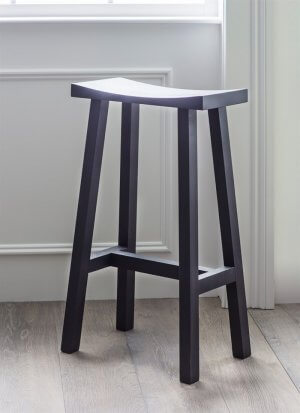 Tall Clockhouse Stool - Carbon
