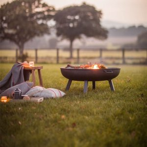 Fire Pit Raw Metal - Large