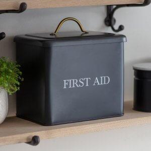 First Aid Box - Carbon