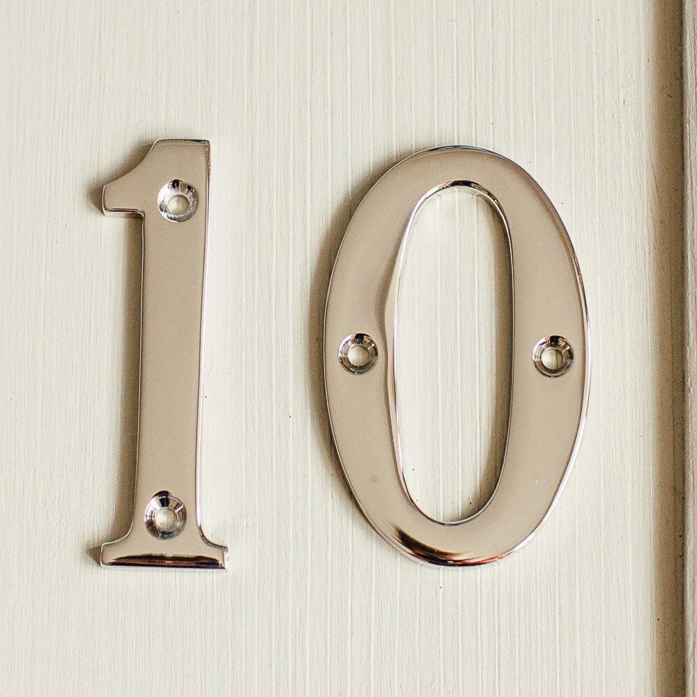 House Number '0' - Nickel