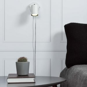 Greger Wall Spotlight - White