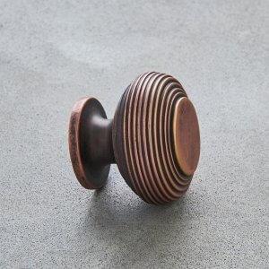 Beehive Cabinet Knob - Bronze