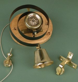 Butler's Bell in Brass