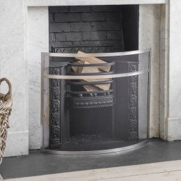 Heanton Firescreen - Steel