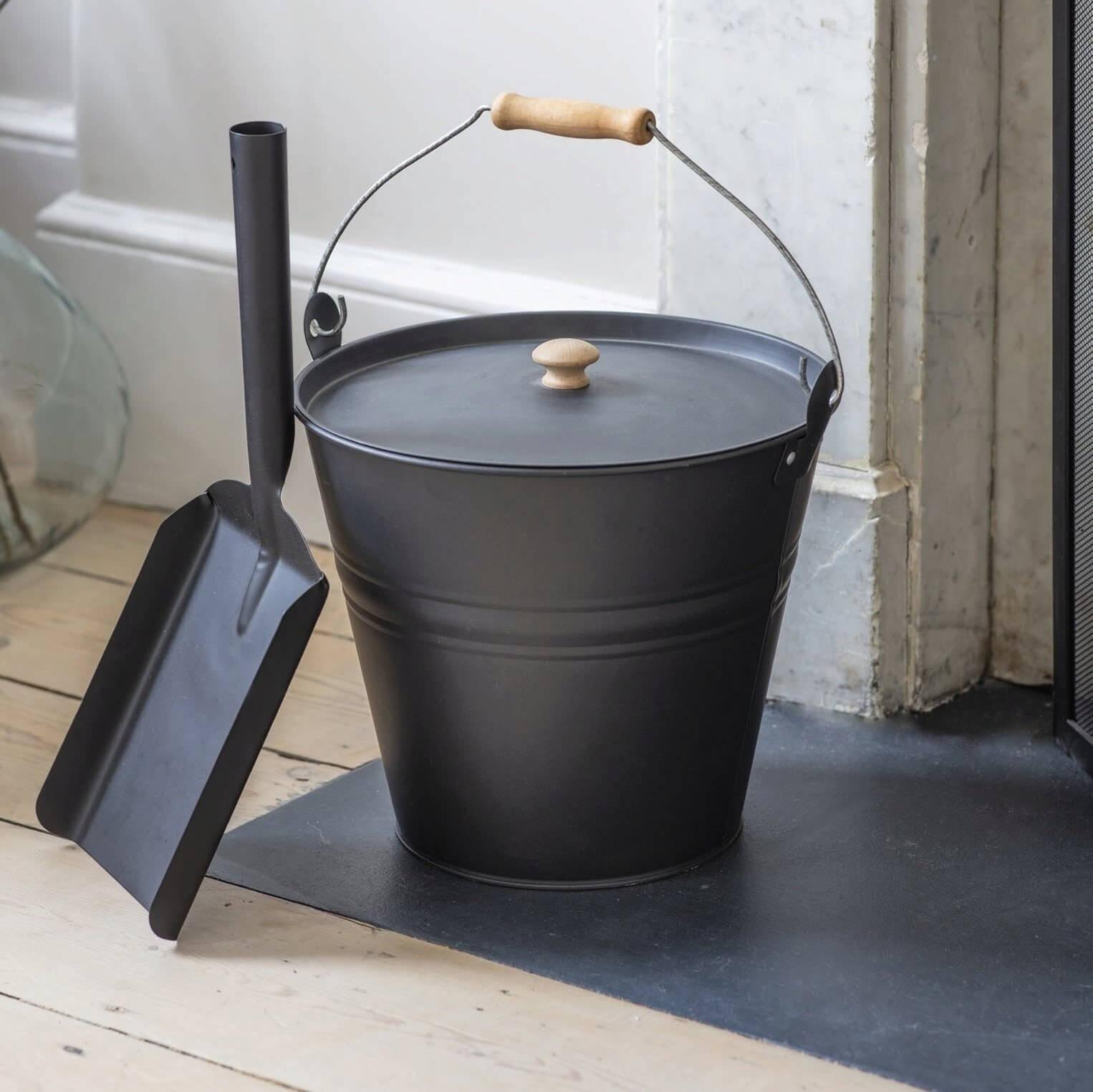 Fireside Bucket - Carbon