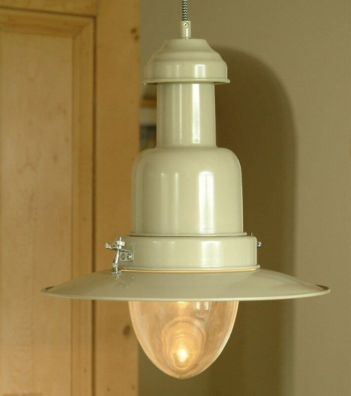Fishing Pendant Light - Clay