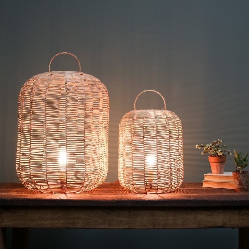 Wicker Lamp - save 30%