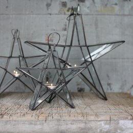 Star Tealight Holder - Zinc