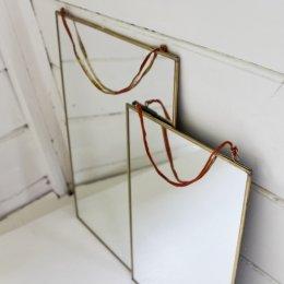 Mirror - Brass