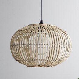 Bamboo Pendant Lightshade - Extra Large save 15%