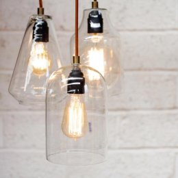 Glass Pendant Light  - save 40%