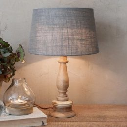Mango Wood Lamp Base  - save 20%