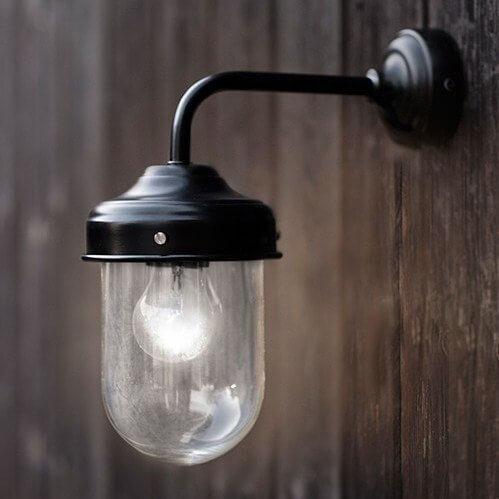 Barn Light - Black save 15%