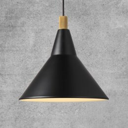 Nordy Pendant Light - Black
