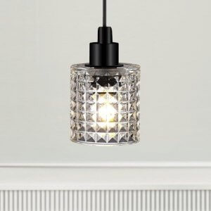 The Crystal Pendant Light - Clear Glass save 20%