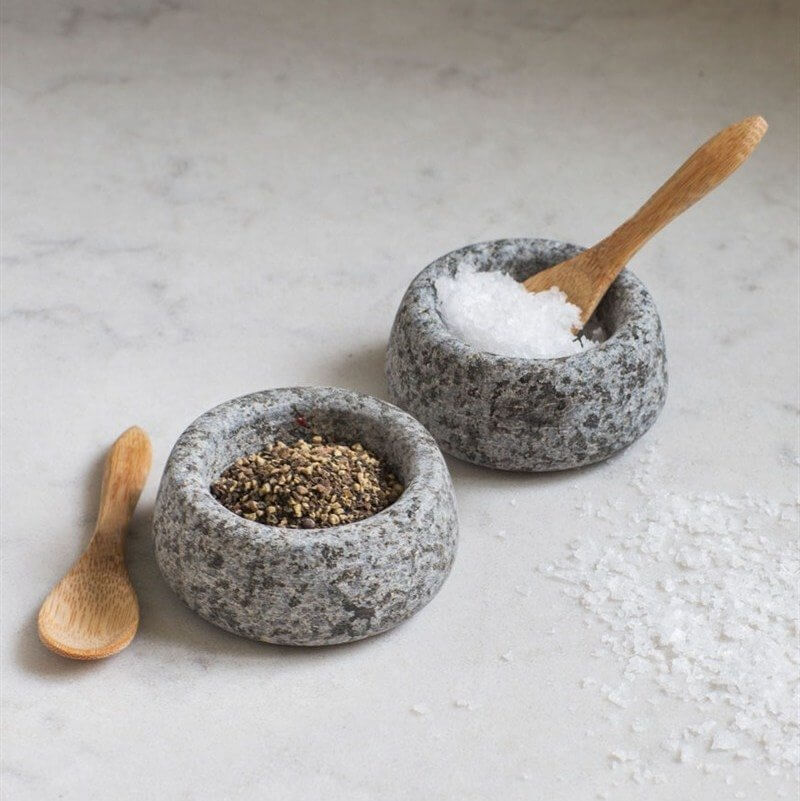 Salt & Pepper Pots - Granite