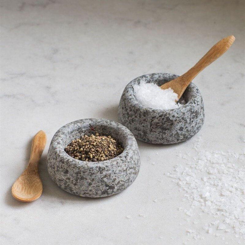 Salt & Pepper Pots - Granite save 20%