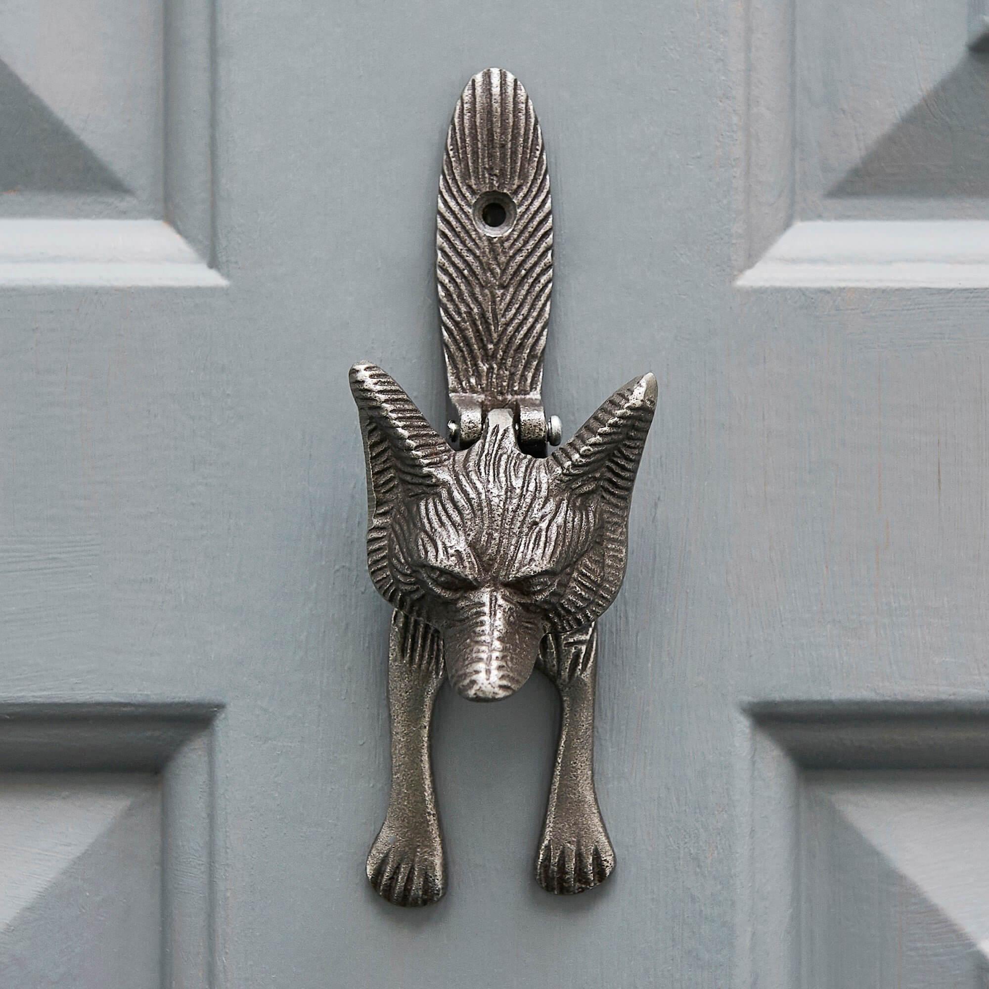 Fox Door knocker - Antique Iron