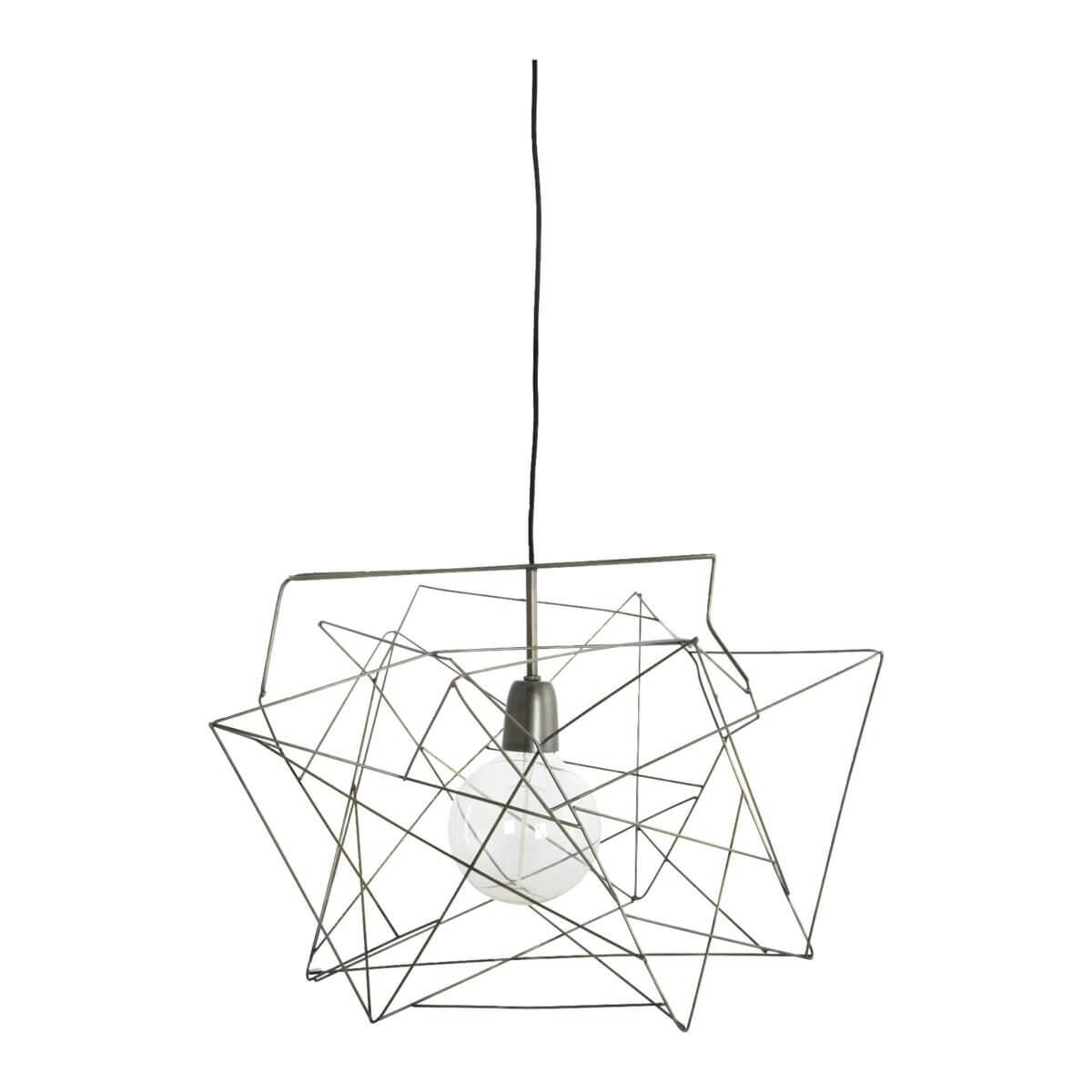 Asymmetric Pendant Light - Gunmetal
