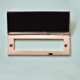 Letter Plate Tidy - Nickel