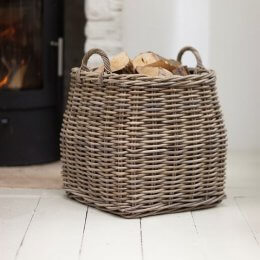 Tapered Log Basket