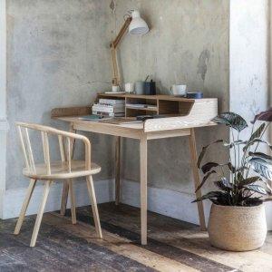 Ash Desk With Storage - save 10%