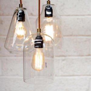 Glass Pendant Light  - save 40%