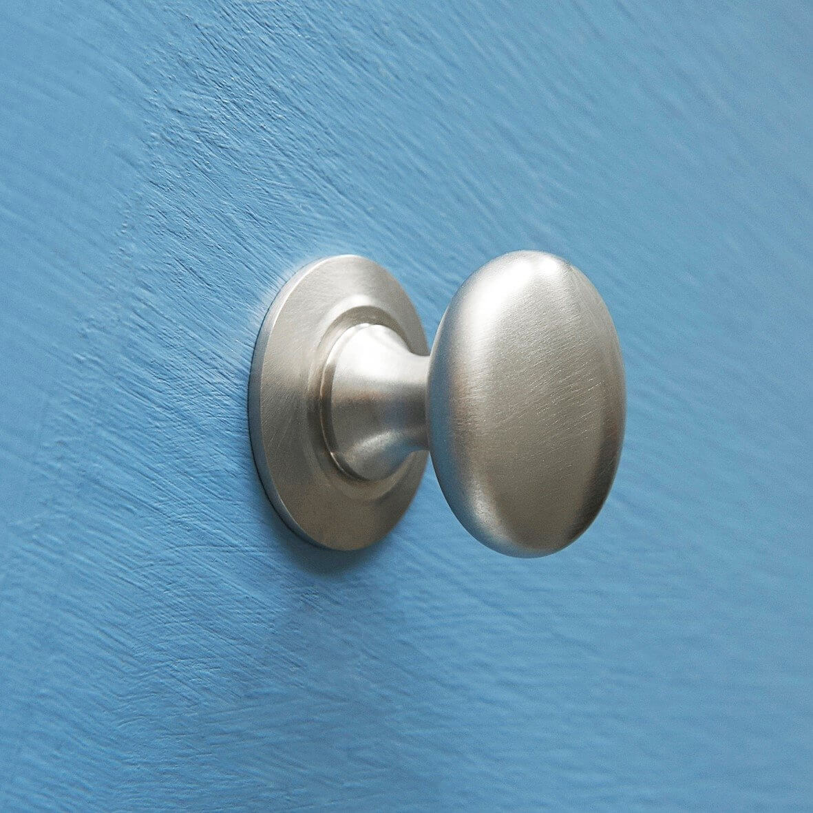 Victorian Cupboard Knob - Satin Nickel