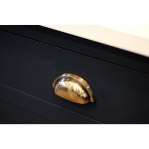 Regency Concealed Drawer Pull - Brass