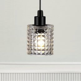 The Crystal Pendant Light - Clear Glass save 25%