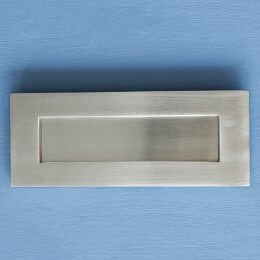 Original Style Letterplate - Satin Nickel