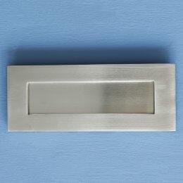 Original Style Letterplate - Satin Nickel