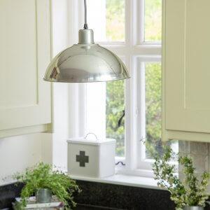 Basin Lamp - Aluminium