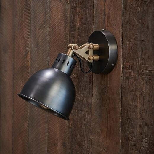 Chaima Wall Light - Aged Bronze
