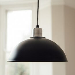Basin Lamp - Black save 50%