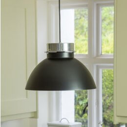 Lucas Pendant Light - Black save 40%