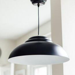 Retro Pendant Light - Black