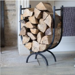 Iron Log Holder - Large