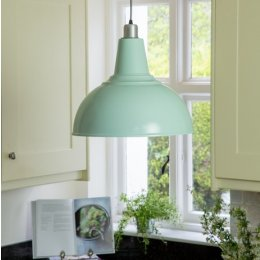Large Kitchen Pendant Light - Sea Spray