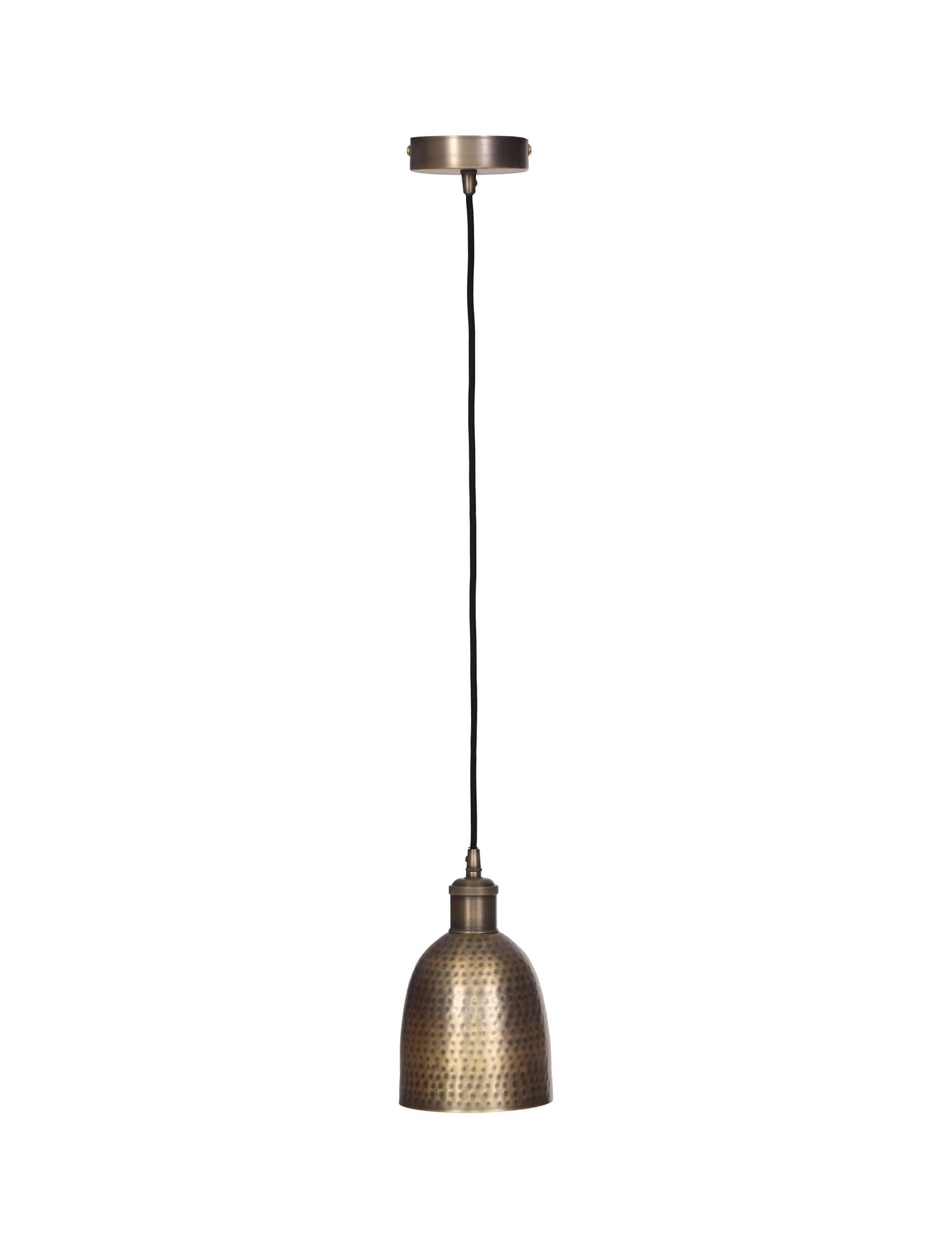 Horus Pendant Light - Antique Brass
