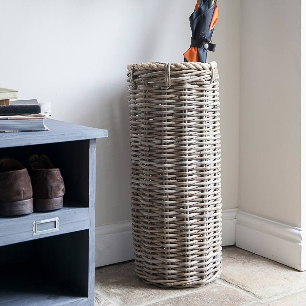Umbrella Holder - Rattan