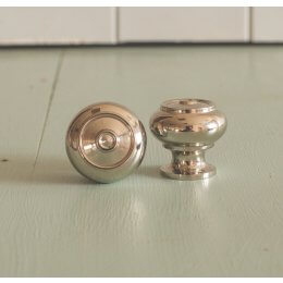 Regency-Style Small Cabinet Knob - Nickel - SAVE 10%