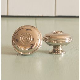 Regency-Style Large Cabinet Knob - Nickel - SAVE 20%