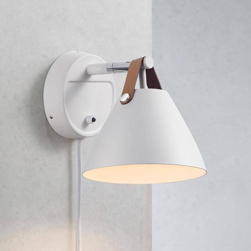 Nordic White Wall Light