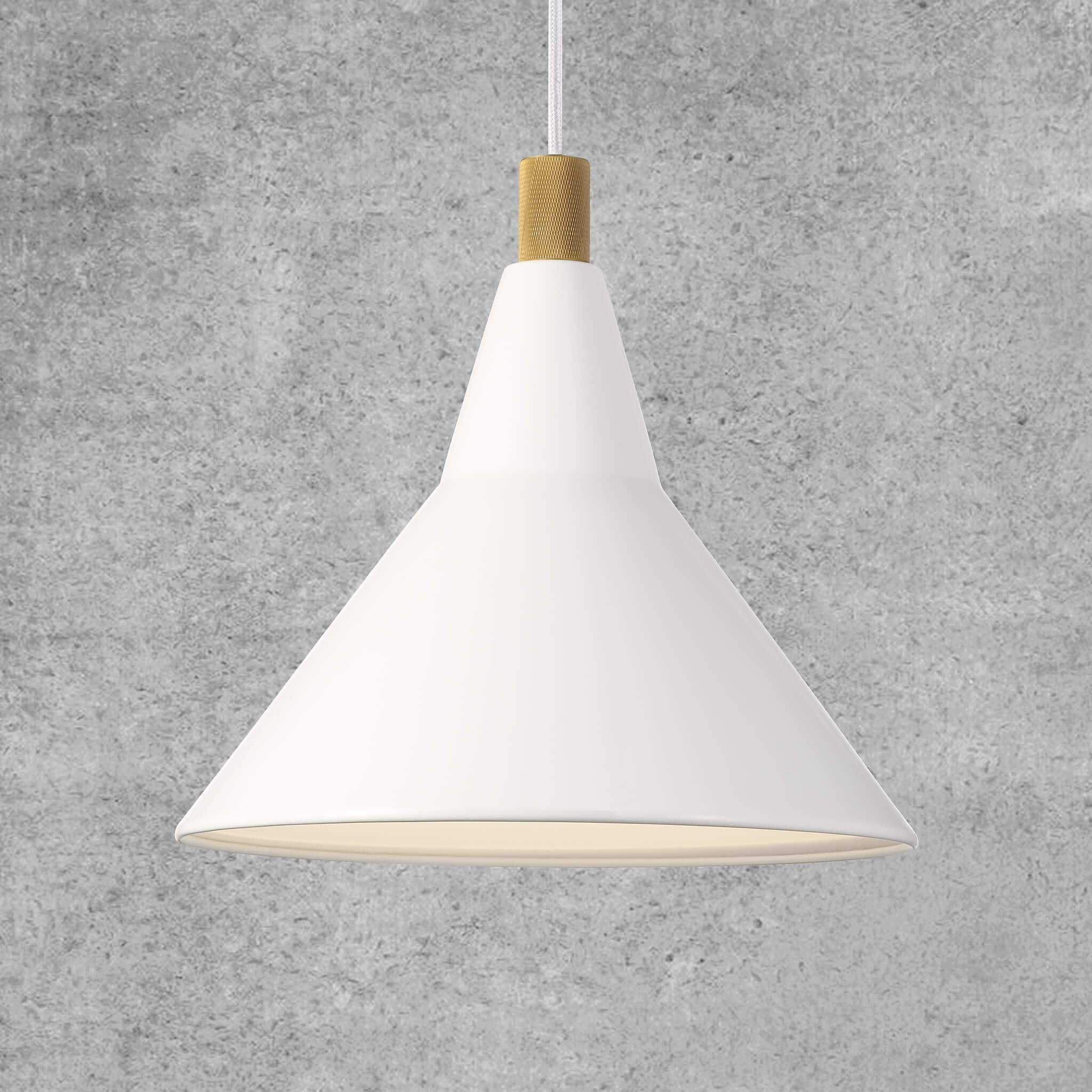 Nordy Pendant Light - White
