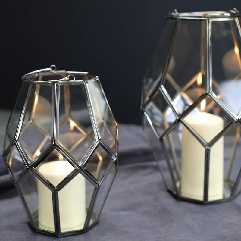 Mohani Lantern - Silver SAVE 35%