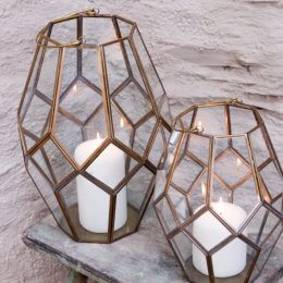 Mohani Lantern - Brass save 35%