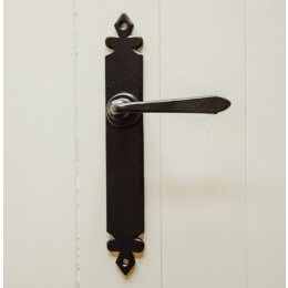 Cromwell Lever Handles (Pair) - Black