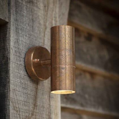 Up & Down Light - Raw Copper