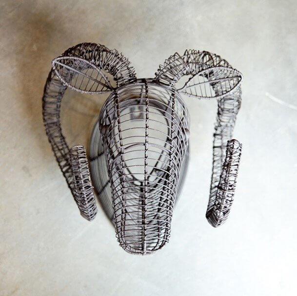 Wire Ram Head